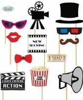 Carnavalskleding foto prop setjes bioscoop
