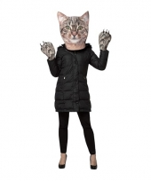 Carnavalskleding fun katten verkleedset volwassenen
