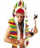 Carnavalskleding gekleurde indianentooi