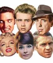 Carnavalskleding gezichtsmaskers hollywood sterren
