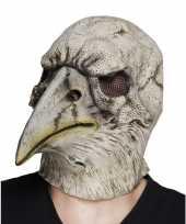 Carnavalskleding grijze adelaar horror halloween masker latex