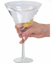 Carnavalskleding grote martini glazen