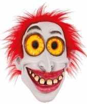 Carnavalskleding halloween masker enge clown monster