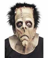 Carnavalskleding halloween masker frankenstein