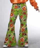 Carnavalskleding hippie broeken kinderen hartjes