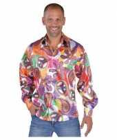 Carnavalskleding hippie carnavals blouses heren fun