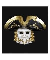 Carnavalskleding italiaans heren masker casanova