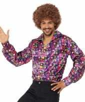 Carnavalskleding jaren peace overhemd heren