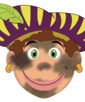 Carnavalskleding kinder masker roetveeg piet 10096320