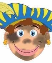 Carnavalskleding kinder masker roetveeg piet