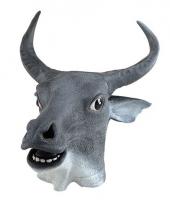 Carnavalskleding koeien masker rubber