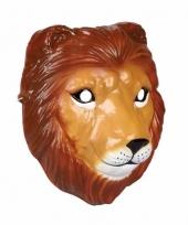 Carnavalskleding leeuwen masker gemaakt plastic d cm