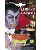 Carnavalskleding lichtgevende vampieren gebitje