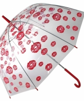 Carnavalskleding liefdes paraplu kusjes