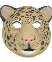 Carnavalskleding luipaard maskers kinderen