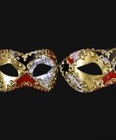 Carnavalskleding luxueus italiaans carnaval venice oogmasker