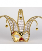 Carnavalskleding luxueus muziek venetiaans masker musica