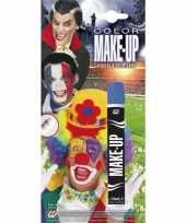 Carnavalskleding make up stift blauw