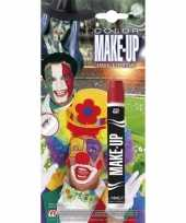 Carnavalskleding make up stift rood