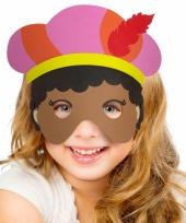 Carnavalskleding masker piet meisjes