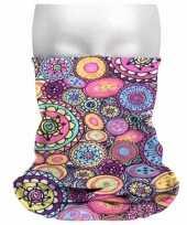 Carnavalskleding morph shawl print