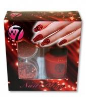 Carnavalskleding nagellak diy kit glamour rood