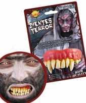 Carnavalskleding nep gebit monster tanden