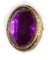 Carnavalskleding paarse sinterklaas ring