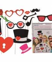Carnavalskleding photo booth prop accessoires huwelijk