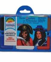Carnavalskleding piraat schminken schminkset