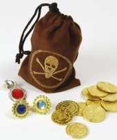 Carnavalskleding piraten buit buidel