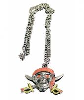 Carnavalskleding piraten ketting