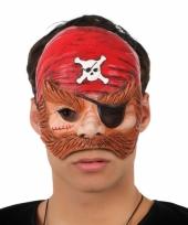 Carnavalskleding piraten oogmaskers