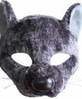 Carnavalskleding rat masker geluid
