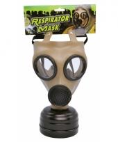 Carnavalskleding realistische gasmaskers volwassenen