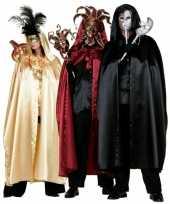 Carnavalskleding rode heksen mantel volwassenen