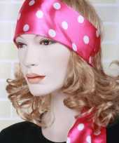 Carnavalskleding roze taille riem dames 10022997