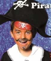 Carnavalskleding schminksetje piraat kinderen