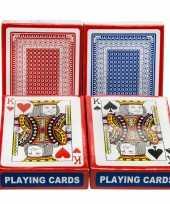 Carnavalskleding set geplastificeerd poker kaartspel speelkaarten