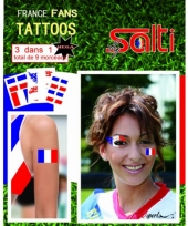 Carnavalskleding tatoeages frankrijk stuks