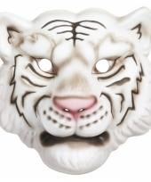 Carnavalskleding tijger kindermasker plastic 10081046