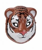 Carnavalskleding tijger masker gemaakt plastic d cm