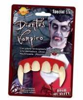 Carnavalskleding vampier gebit volwassenen