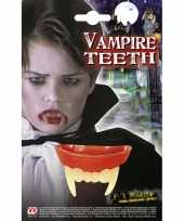 Carnavalskleding vampier gebitje kinderen