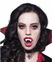 Carnavalskleding vampier gebitje verkleedaccessoire volwassenen