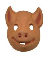 Carnavalskleding varkens masker volwassenen