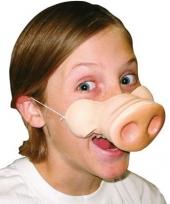 Carnavalskleding varkens neus masker
