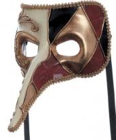 Carnavalskleding venetiaans masker een joker