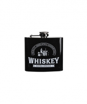 Carnavalskleding vintage heupflacon whiskey ml