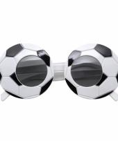 Carnavalskleding voetbal brillen